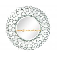 Quality Hot Product Good Quality Silver Color Personalized Decorative Mirror Home Decor For Living room for sale