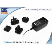 Quality 24 series EU / US / BS / AU Prong Interchangeable 12V 2A Universal Ac Dc switching power Adapter for sale