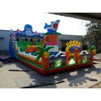 Buy cheap New design Inflatable trampoline from China with warranty 24months from GREAT from wholesalers