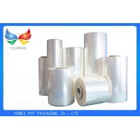 Quality 35 Mic Clear Soft Pvc Shrink Film Rolls, Heat Shrink Wrap Film With Blow Molding for sale