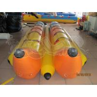 Quality Inflatable Yellow surfing Banana Boat for sale