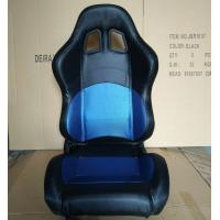 Quality JBR1032 PVC Sport Racing Seats With Adjuster / Slider Car Seats for sale