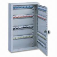 Quality Key Cabinet, Made of Quality Pressed Steel and Epoxy Powder Coating for sale