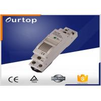 Quality Gray Color Mechanical Latching Relay 24vdc , Spst Latching Relay CE Certified for sale