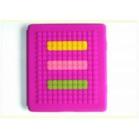 Quality Fashionable Lego blocks iPad, ipad2 Silicone Protective Cases Smart Cover for Standing for sale