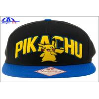 Buy cheap 5 Panel Custom Baseball Caps / Fitted Baseball Caps With Crystal Logo from wholesalers