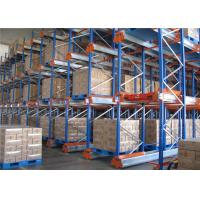 Quality Warehouse Heavy duty Radio Shuttle Pallet Racking with Pallet Runner for sale