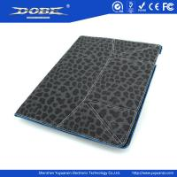 Quality Multicolour Leopard style leather case for iPad 3 & for iPad 2 for sale