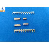 Quality 1.25mm Pitch Miniature Crimping Connector UL-listed Grey Color Lvds Display Connector for sale