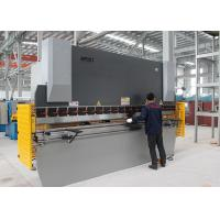 Quality 160T 3.2M NC Steel Press Brake Steel Bar Cutting And Bending Machine 11KW Power for sale