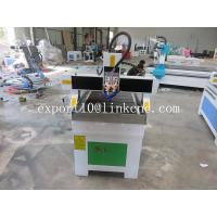 Buy Desktop Wood Lathe 3D Mini CNC Router Machine 1.5kw Water Cooled Spindle Motor at wholesale prices