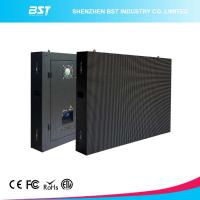 Quality P4 SMD2121 Black LEDs Large LED Screen High Resolution , easy maintenance for sale