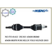 Quality Auto Parts Cv.Axle Drive Shaft For Toyota  Hilux Vigo Kun25 2015 Fortuner 43430-0k070 for sale