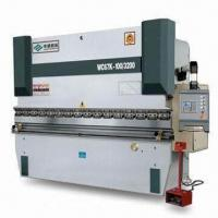 Quality Hydraulic Press Brake, Protects Fence/Electric Interlock, Equipped with E200 Digital Control for sale