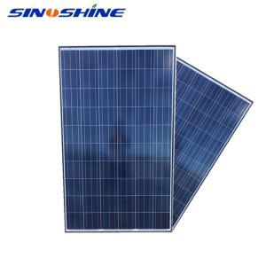 Quality Pingdingshan 10w 24v 250w 260w 275w 300w 320w 350w solar panel poly module for sale
