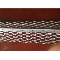 China 5CM Wing  Perforated Expanded Plaster Angle Bead 3m Length 0.3mm Thickness on sale