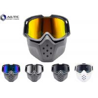 Quality Full Face Stylish Safety Glasses , Construction Safety Goggles ABS Raw Frame for sale