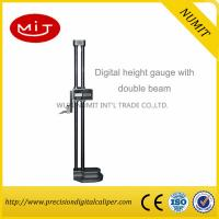Quality Relative measuring Twin Column Electronic Digital Height Gauge With Double Beam Surfaces/Precision Measurement for sale