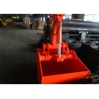 Quality Customized 600L Excavator Bucket Grab Clamshell For Doosan DX150 Excavator for sale