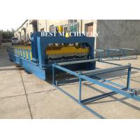 Quality 1000mm Metal Roof Roll Forming Machine Double Layer , Roofing Sheet Making Machine for sale