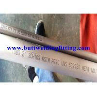 Quality Super Duplex Stainless Steel Seamless Pipe Pickled And Annealed for sale