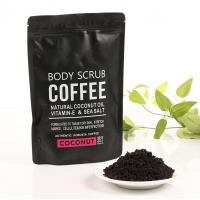 Quality Coconut / Coffee Natural Body Scrub Brightening Stretch Mark For Adult for sale