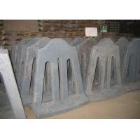 Quality High Cr Cast Iron Retention Ring Applied in Cement Mill / Mill Liner Design and Installation for sale
