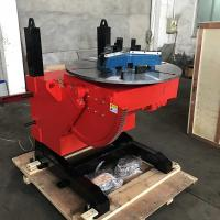 Buy cheap Electric Lifting Welding Turn Table , Schneider Electric Controls System from wholesalers