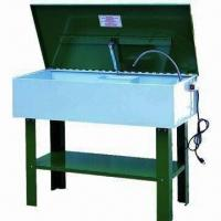 Quality Electric parts washer with 90L tank capacity and powder coating finish, CE certified for sale