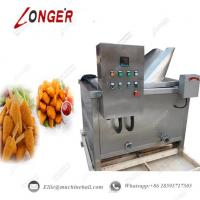 Buy Automatic Chicken Continuous Frying Machine|Industrial Fried Chicken Frying at wholesale prices