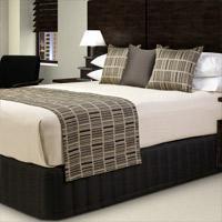 Quality Luxury Hotel Fireproof Bed Scarf for sale