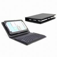 Quality Bluetooth Keyboard Covers for Samsung 6200/iPad 2, Customized Logo Designs are Welcome for sale
