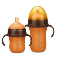 Quality Colored Nipples Newborn Milk Bottle , Small Ready Made Formula Bottles for sale