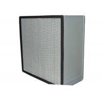 Buy Washable Cleanroom HEPA Air Filter for Filtration System , Anodized Aluminum Frame at wholesale prices