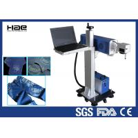 Buy cheap Online Flying Co2 Jeans Denim portable laser marking machine , small laser from wholesalers