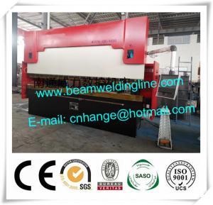 Quality Delem Synchronize Electric Hydraulic Press Brake , WE67K Press Brake Machine for sale