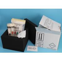 Quality Blood and Urine Cryogenic Vials Transport Kit / Laboratory Medical Ambient Kit for sale