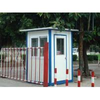 Quality White Mobile Portable Modular Homes , Light Sloping Roof House for sale