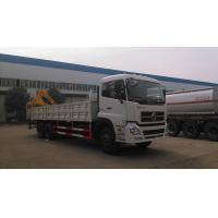 Quality dongfeng rear crane mounted on truck for sale