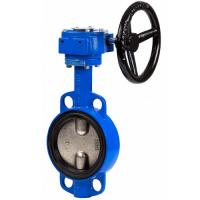 China Sanitary Welded industrial DN 250 Epoxy Coating reflux handles pvc butterfly valve on sale