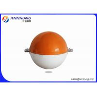 Quality Temperature Resistant Aircraft Warning Sphere For Tall Transmission Lines for sale