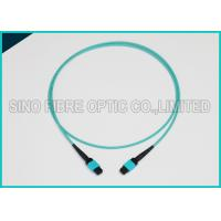 Buy cheap 3.0mm 100Gbps 24F MPO MTP Mating Fiber Optical Multimode OM3 Trunk Method B from wholesalers