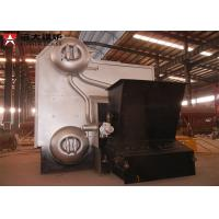 Industrial Water Tube Wood Fired Boiler Corrugated 14 Bar Capacity 4 Tons for sale