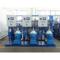 Quality Self Cleaning Fuel Oil Treatment System , Fuel Oil Purifier Separator 5000 L/H for sale