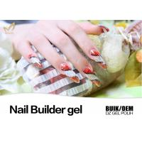 Quality Painless Hard Gel Nails , Stronger UV Led Builder Gel to Extend Nails for sale