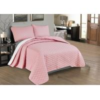 Buy Beautiful Pink Quilted Coverlet Custom Made Bedspreads Full Size Bedspread at wholesale prices