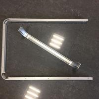 Buy Custom Small Radius Aluminum Bending Profiles with Silver Anodized at wholesale prices