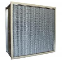 Quality 350 Degree High Temp Air Filter For Oven Equipment Stainless Steel Frame for sale