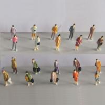 Quality 1:87 boutique standing figure,miniature figures,painted figure,color people,HO figures for sale
