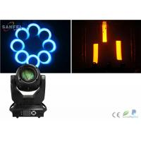 Quality 150w RGBW Spot LED Beam Moving Head Light High Brightness 16ch Gobo Zoom for sale